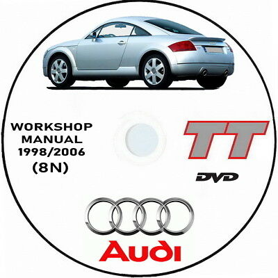 Workshop Manual Audi TT (8N) 1999/2006.Manuale officina Audi 8N TT
