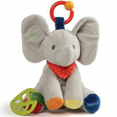 Gund Baby 4060906 Flappy the Elephant Activity Soft Plush Toy