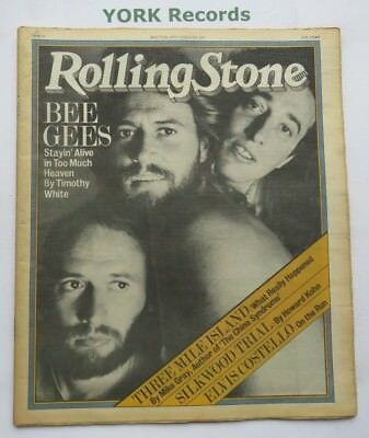 ROLLING STONE MAGAZINE - Issue 291 - May 17 1979 - Bee Gees / Three Mile Island