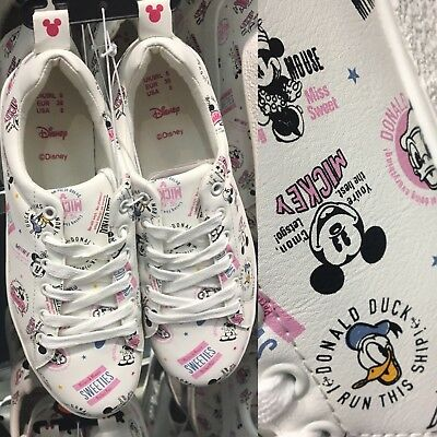 DISNEY MICKEY & MINNIE MOUSE Trainers Sneakers Shoes Primark
