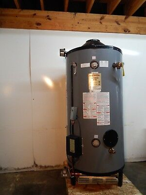 Used Commercial Rudd LP/Propane Gas Hot Water Heater 100 Gal with 250000 BTU's