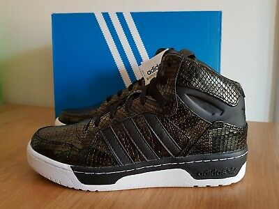 Adidas Womens Girls M Attitude Revive Hi Top Trainers Shoes S75795 UK 4.5