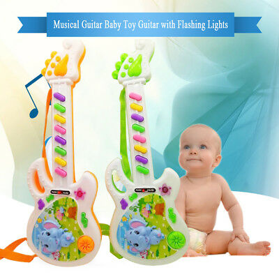 Musical Electronic Guitar Instrument Toys Early Toddler For Baby Music Play