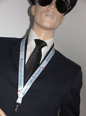 Lanyard American Airlines AA keychain neckstrap LANYARD