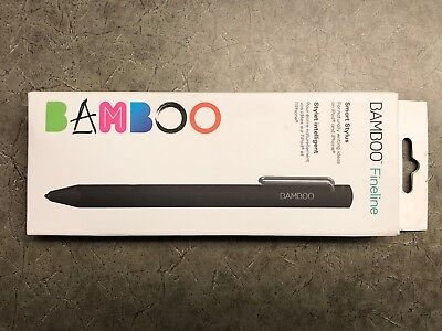 Wacom - Bamboo Fineline Smart Stylus CS610CK Black 3rd Gen