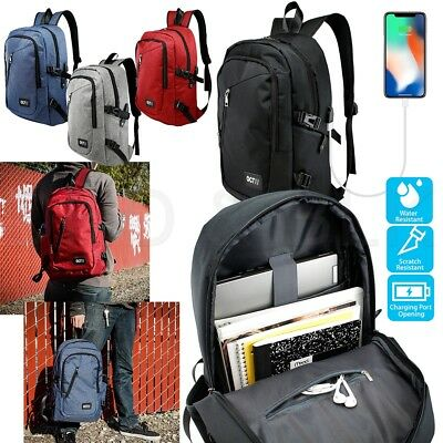 Business Laptop Anti Theft Computer Bag Water-resistent College School Backpack