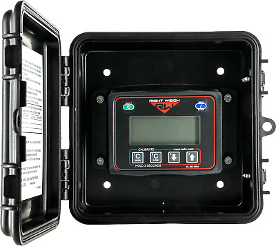 Bluetooth™ enabled Right Weigh 201-EBT-02B Exterior Digital Load Scale for 2 HCV