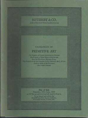 SOTHEBY'S PRE-COLUMBIAN AFRICAN OCEANIC ESKIMO AMER INDIAN Pitt Rivers Col Cat75