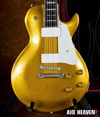 Axe Heaven Classic Gold Top 1/4 scale Miniature Collectible Guitar GT-111