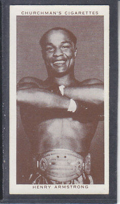 Churchman - Boxing Personalities 1938 - # 2 Henry Armstrong
