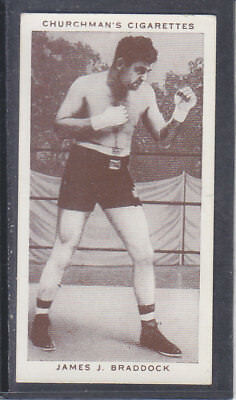 Churchman - Boxing Personalities 1938 - # 6 James J Braddock