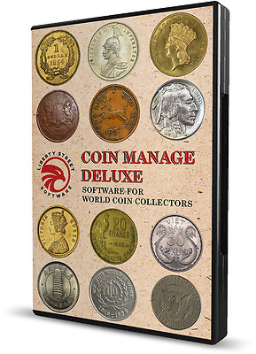 2018 Coin Collector Software.  USA + Canada Collection Inventory Program