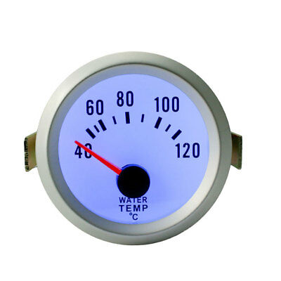 52mm Water Temp Temperature Gauge Measure Meter For Car Truck Boat Motorcycle