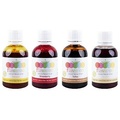 Flavaroo Multipack Diet Aid - Reduce Your Sugar Intake, Great Flavours, No Guilt
