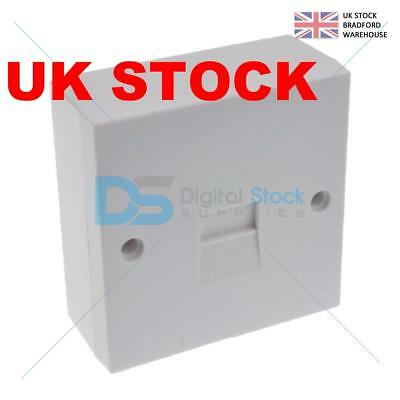 Secondary Slave Bt Telephone Extension Socket 2/3A Idc With Back Box