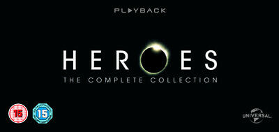 Heroes: The Complete Collection DVD (2012) Hayden Panettiere ***NEW***