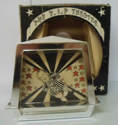 Vintage 1970's President Richard Nixon Dancing music box w/ original box - AS-IS