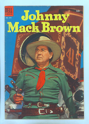 Johnny Mack Brown Four Color 618 FN Photo Cover