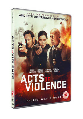 Acts of Violence DVD (2018) Bruce Willis ***NEW***