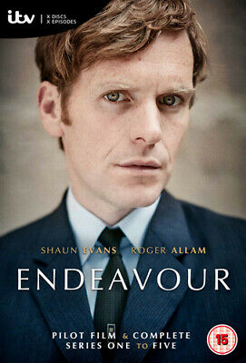 Endeavour: Complete Series One to Five DVD (2018) Sam Reid ***NEW***