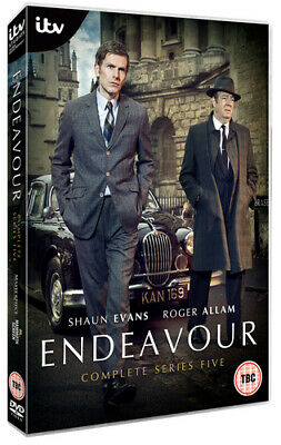 Endeavour: Complete Series Five DVD (2018) Sam Reid ***NEW***