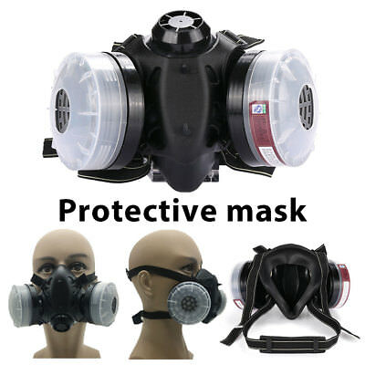 Protective Mask Breathing Respirators Anti Dust Mask Spray Outdoor Worker