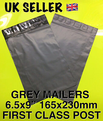100 x GREY Postal Postage Mailing Poly Bags