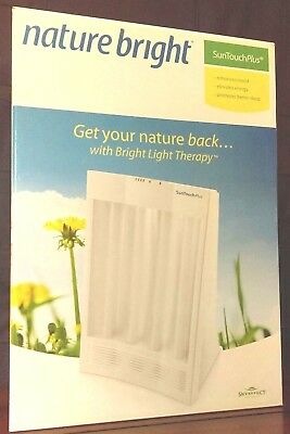 NatureBright SunTouch Plus Light and Ion Therapy Lamp