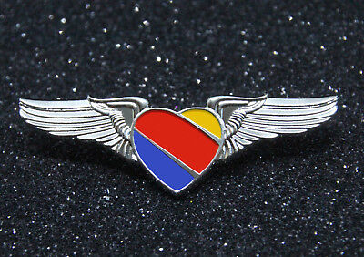 WING SOUTHWEST AIRLINES Heart FULL WINGS metal Pilot Replica 50mm/~2inch replica