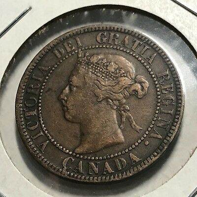 1896 Canada One Penny Higher Grade