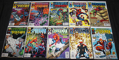 Marvel WEBSPINNERS: TALES OF SPIDER-MAN #4-13 -10pc Comic Lot Grade VF-NM