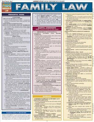 Family Law by Barcharts Inc 9781423217640 (Poster, 2011)