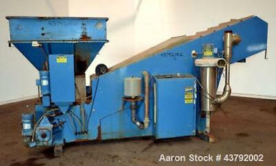 """Used- JWI J"""" Mate Continuous Dryer, Model J120-GAS, Carbon Steel. Gas heated, wo"""