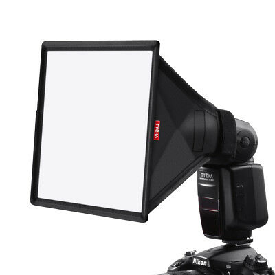 Mini Softbox Diffuser 23x18cm for DSLR Flash Speedlite Speedlight Portable TK9