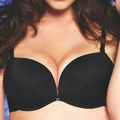 Bra Super Push Up Padded Air Gel Two Sizes Plus' Lormar Double