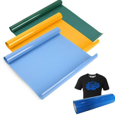 1 Sheet PVC 3 Farbe Iron-On Heat Press Transfer Vinyl Film T Shirt 60x100cm