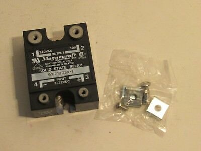 New Magnecraft W6210Dsx-1 W6210Dsx1 3-32Vdc Solid State Relay
