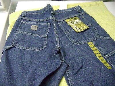 BOYS  or SMALL MEN JEANS  LEE DUNGAREES CARPENTER  SIZE  W 29 L 30 NEW  $48
