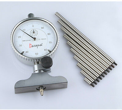 "Dasqua Engineers Dial Depth Gauge 0-6"" Imperial (Ref: 58224100)"
