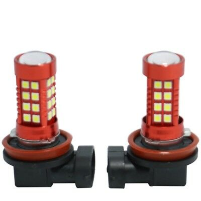 2X H8/H11 White 6000K 50W LED Headlight Light Kits LED Fog Lamp Fit For Ford