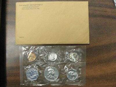 1962 US Silver Proof Set In OGP