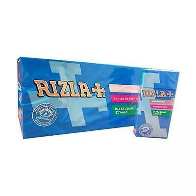 2400 filtri Rizla ultra slim da 5,7 mm filtrini in stick da 20 mm per sigarette