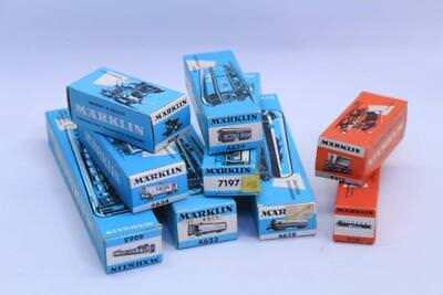 9 x Marklin Illustrated Model Railway Rooling Stock EMPTY BOXES S11
