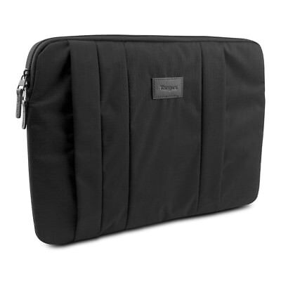 Targus CitySmart Notebook Sleeve for 15.6 Laptops, Black
