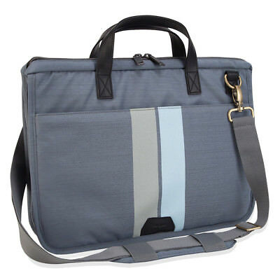 Targus Geo 15.6 Slim Laptop Carry Case, Gray
