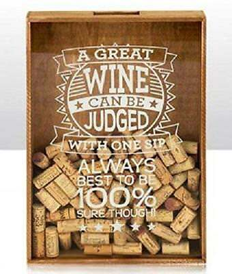 Cork Boxes Great Wine Beer Corks Caps Storage Collection Box Display Gift