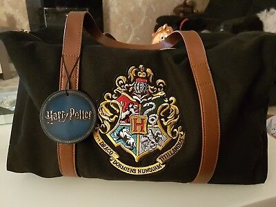 Harry Potter Primark Holdall Overnight / Gym Bag Brand New with Tags Buy It Now