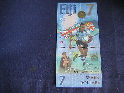 Fiji New Issue Olympic Rugby Sevens Commemorative - $7 - Uncirculated