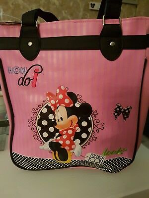 Disney Minnie Mouse Fashion Icon Bag New with Tags Cheapest Buy It Now FREE POST