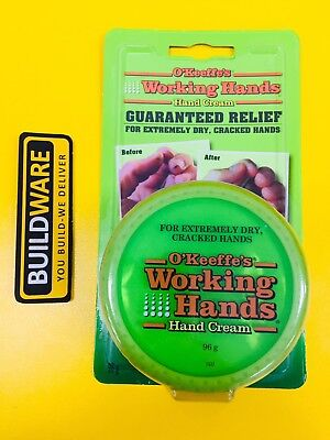 O'KEEFFE'S® Working Hands® Hand Cream 96g Jar - FOR EXTREMELY DRY, CRACKED HANDS